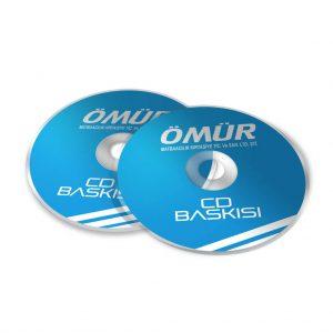 cd etiket baskısı