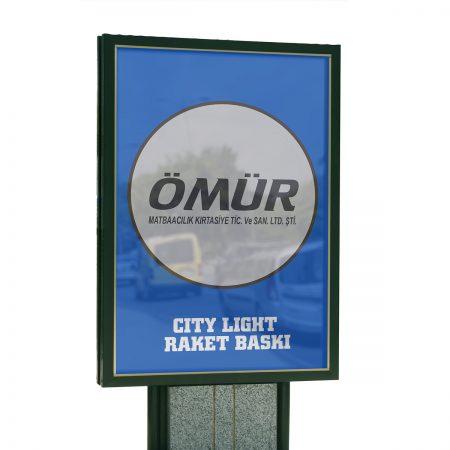 Raket Reklam Pano / Işık Geçiren