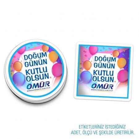 Kişiye Özel Etiket / Sticker